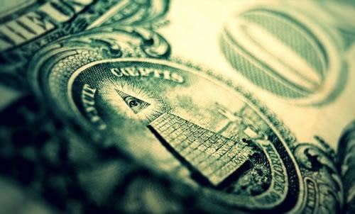 illuminati one dollar bill