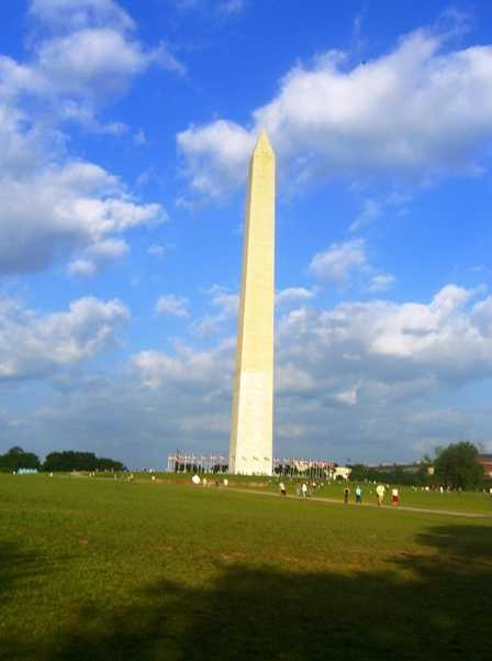 "The Satanic ""Washington Monument,"" which symbolizes an erect male penis and occult power."